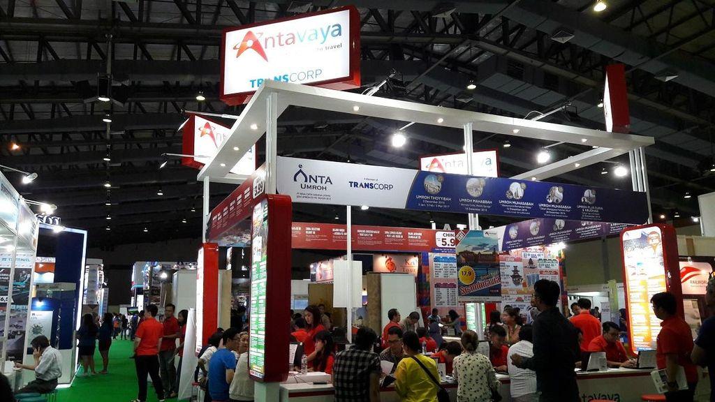 Serbu! AntaVaya Tebar Promo Liburan di Astindo Jakarta Travel Fair
