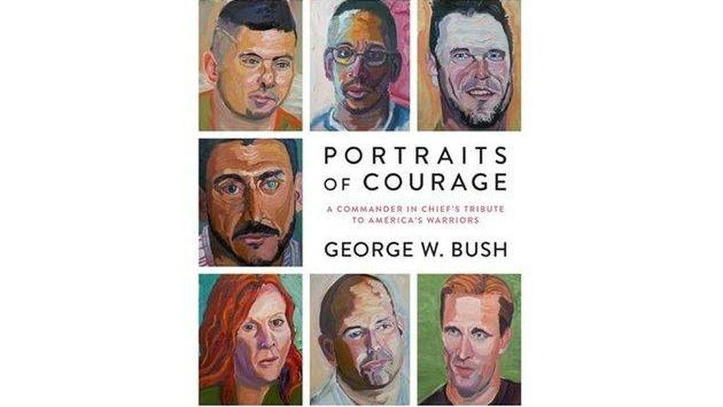 George W Bush Rilis Buku Seni Potraits of Courage