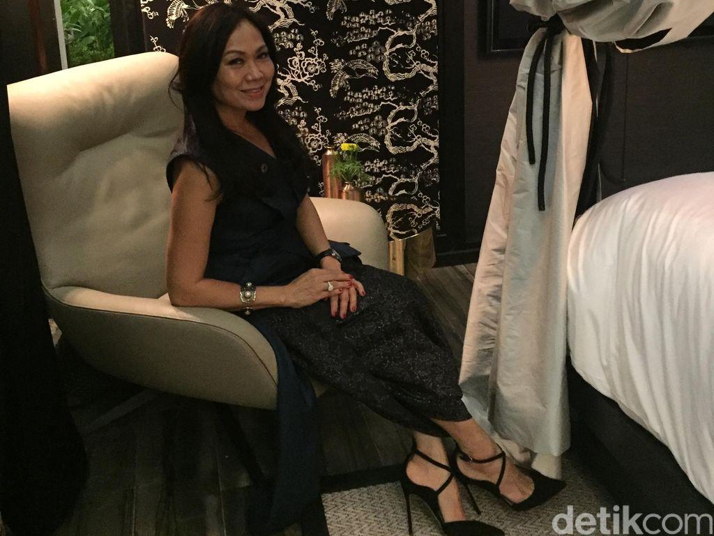 Foto: Inspirasi Batik Sakura & Rumah Joglo di Desain Interior Kamar Hotel