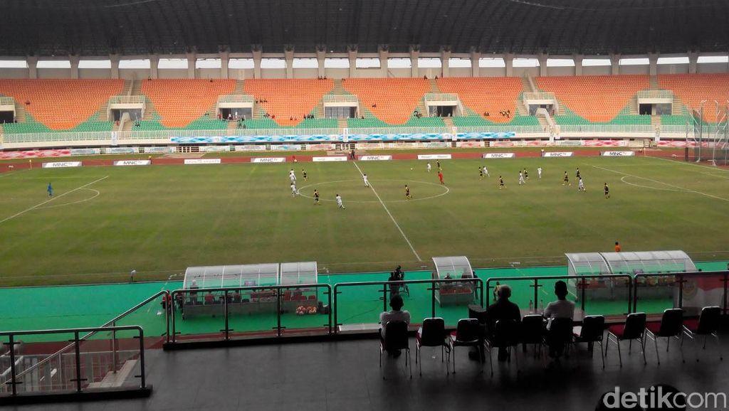 Stadion Pakansari Dipakai Timnas, Laga PS TNI vs Sriwijaya FC Ditunda