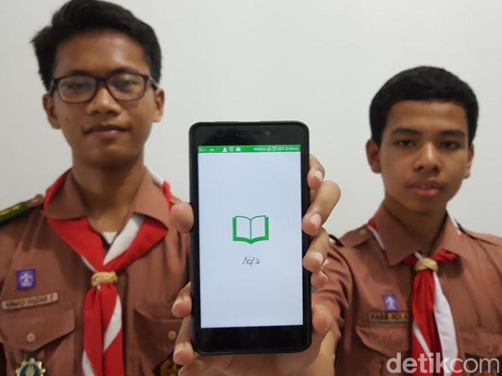 Dua Pelajar ini Buat Aplikasi Pengoreksi Kesalahan Membaca Alquran