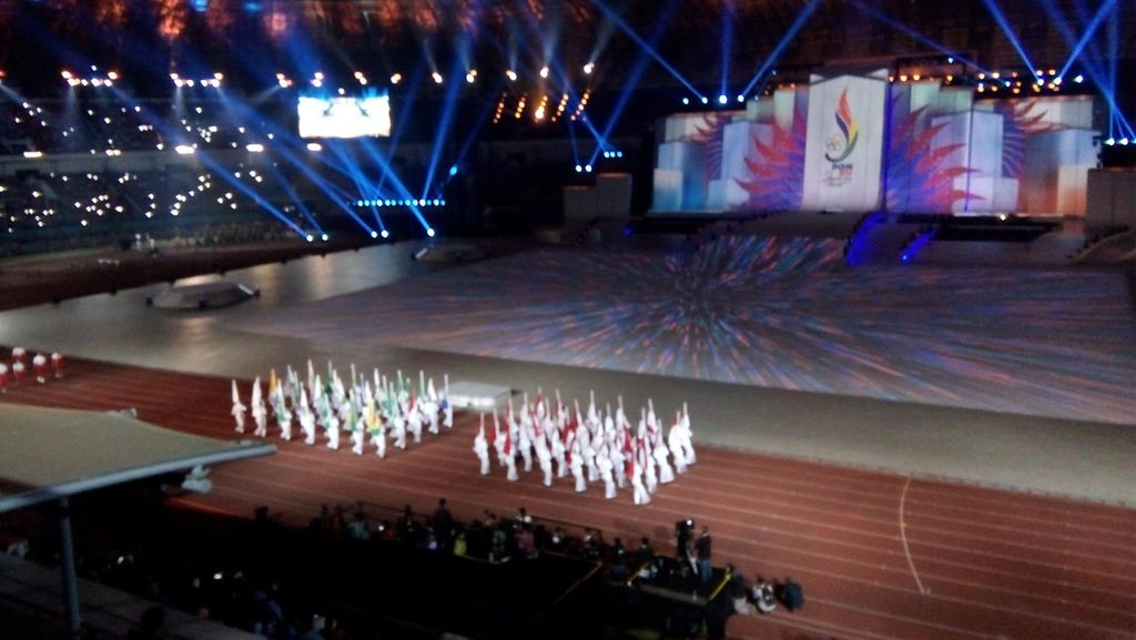Pesta Wah di GBLA dan Tanda Sirene oleh Jokowi, PON Jabar Resmi Dimulai