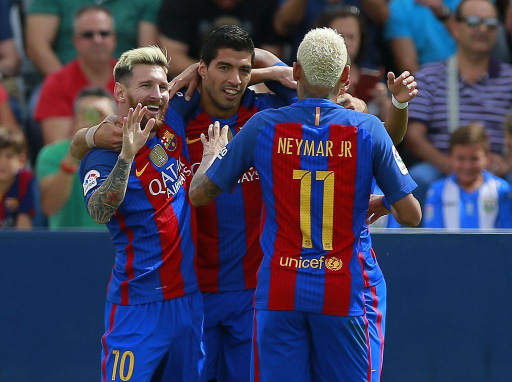 Barcelona Lumat Leganes 5-1