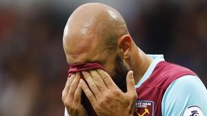 Gagal di West Ham, Zaza Salahkan Diri Sendiri