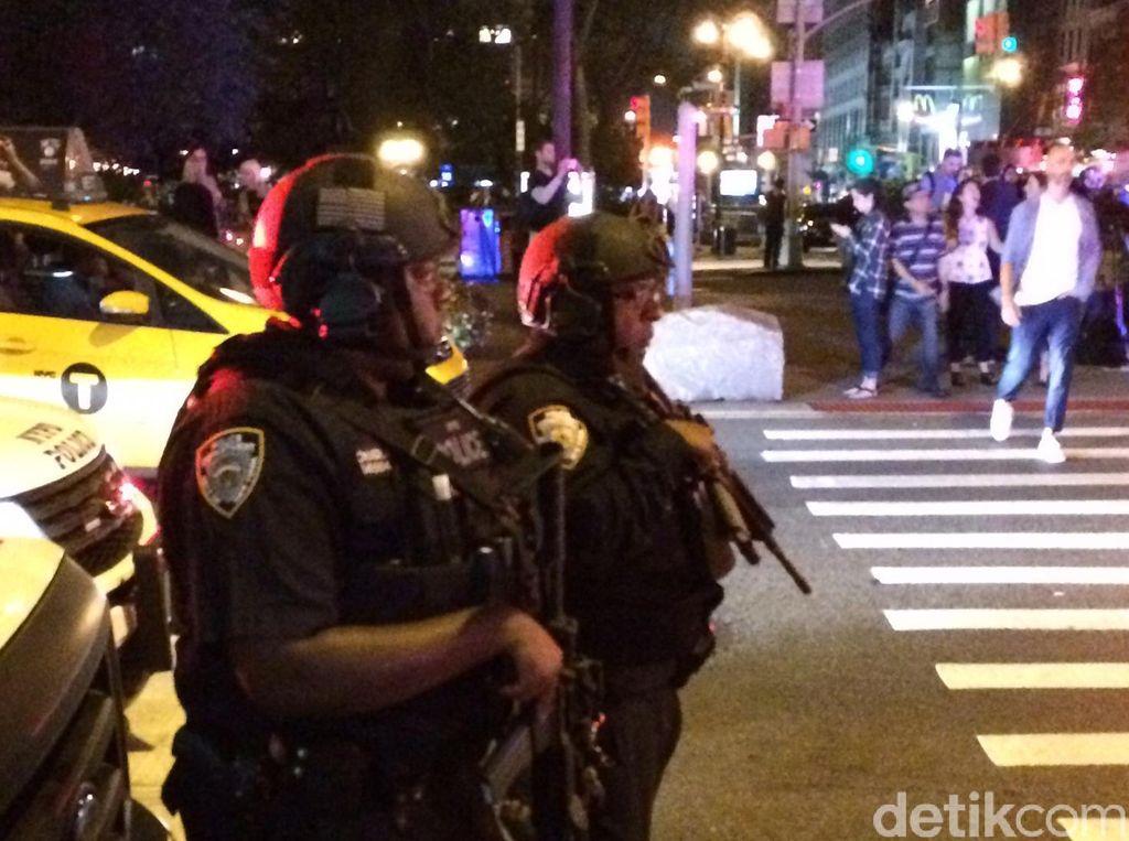 Polisi Tutup Akses ke Lokasi Ledakan New York