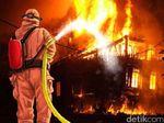 Rumah di Jakut Terbakar, 9 Unit Pemadam Dikerahkan
