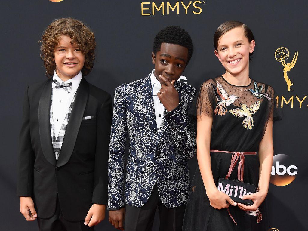 Bintang-bintang Cilik Stranger Things Perdana Hadiri Emmy 2016