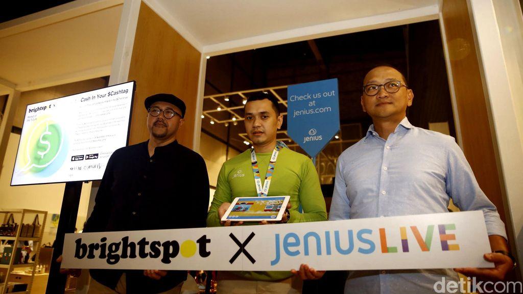 BTPN Kenalkan Jenius Live x Brightspot Market of the Future