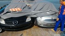 Polri Gagalkan Penyelundupan Mobil Bekas dari Singapura di Perairan Batam