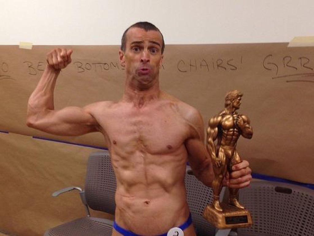 Menginspirasi! Pria Ini Sukses Jadi Bodybuilder Meski Idap Cerebral Palsy