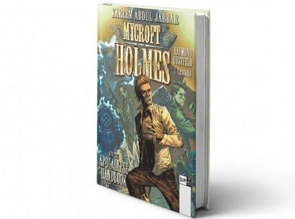 Kareem Abdul-Jabbar Tulis Buku tentang Kakak Sherlock Holmes