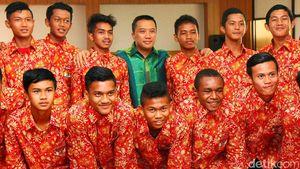 Pelepasan Timnas U-15 ke Malaysia