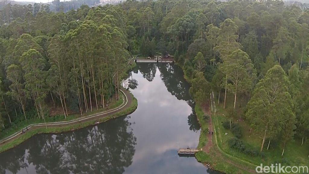 Keren! Pemandangan Hulu Citarum Dipotret Pakai Drone
