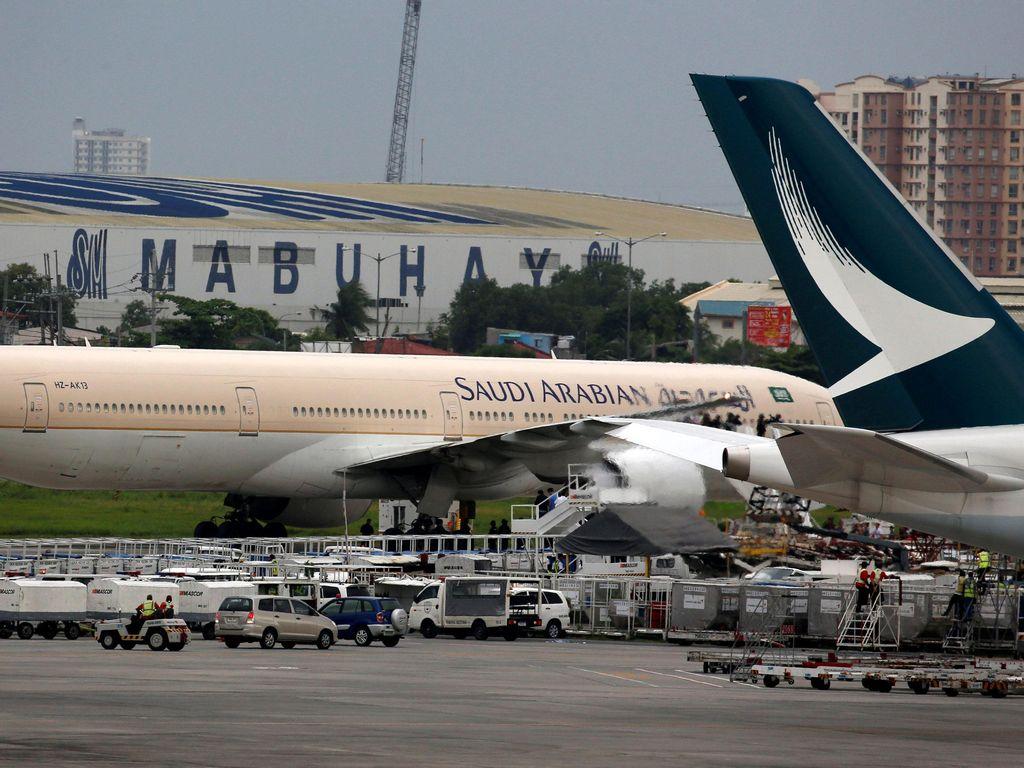 Emak-emak Ketinggalan Bayi, Pesawat di Arab Saudi Putar Balik