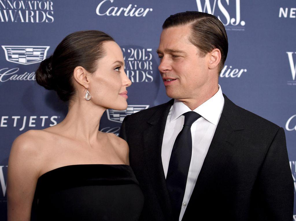 Perceraian Brad Pitt-Angelina Jolie Makin Alot, Anak-anak Tertekan