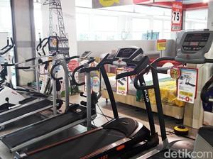 Diskon Sampai Dengan 25% + 25% Peralatan Olahraga di Transmart Carrefour