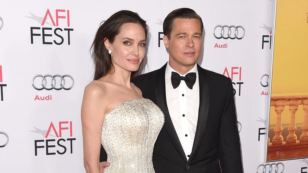 Tak Rayakan Bareng Anak, ke Mana Brad Pitt Saat Thanksgiving?