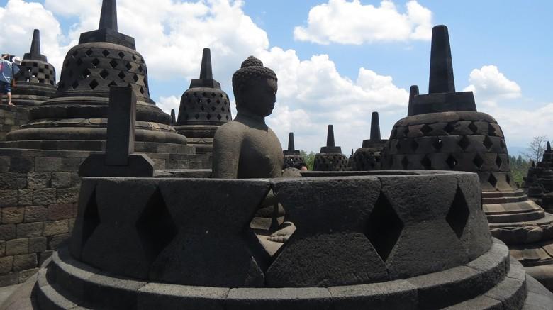 Ilustrasi wisata ke Candi Borobudur (Fitraya/detikTravel)