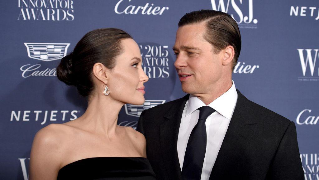 Angelina Jolie Perketat Pertemuan Brad Pitt dengan Anak