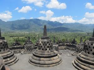 Taman Lumbini Candi Borobudur Siap Digunakan BIF 2017