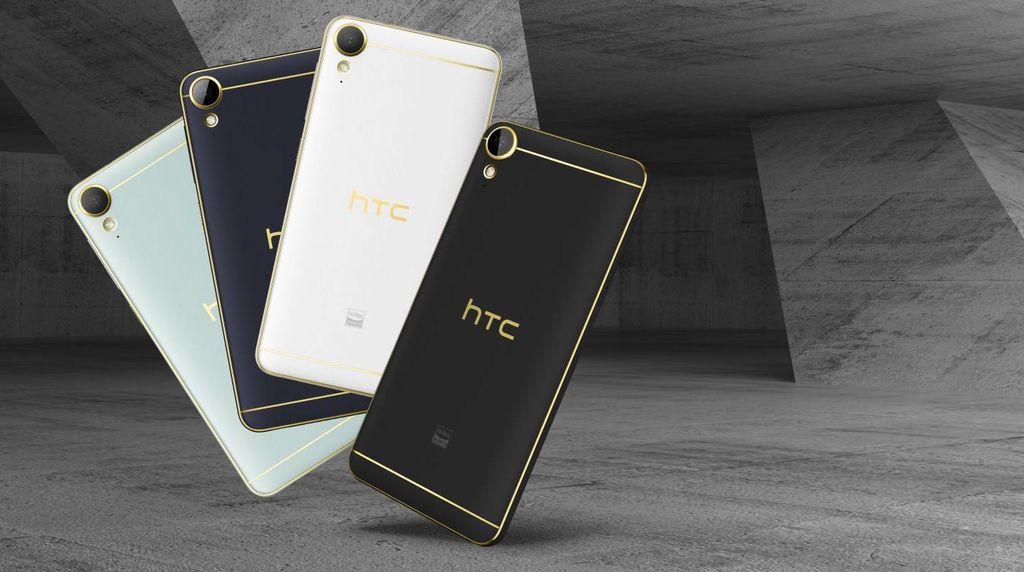 Duo HTC Desire 10 Tampil Gaya