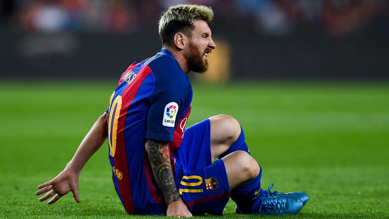Image result for messi cedera