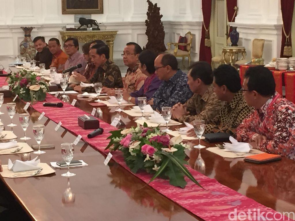 Bahas Kondisi Ekonomi Terkini, Jokowi Undang Ekonom dan Pengusaha ke Istana