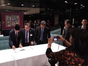 Gubernur NTB dan Para Filantropis Teken Kerja Sama Dukungan SDGs