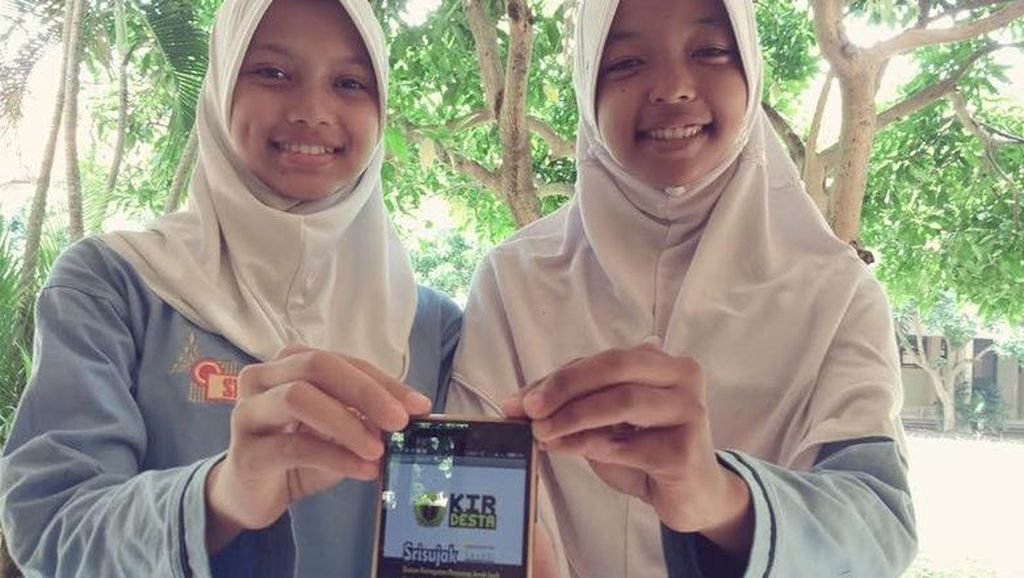 Siswi SMK di Sleman Bikin Aplikasi Deteksi Pencuri Jarak Jauh