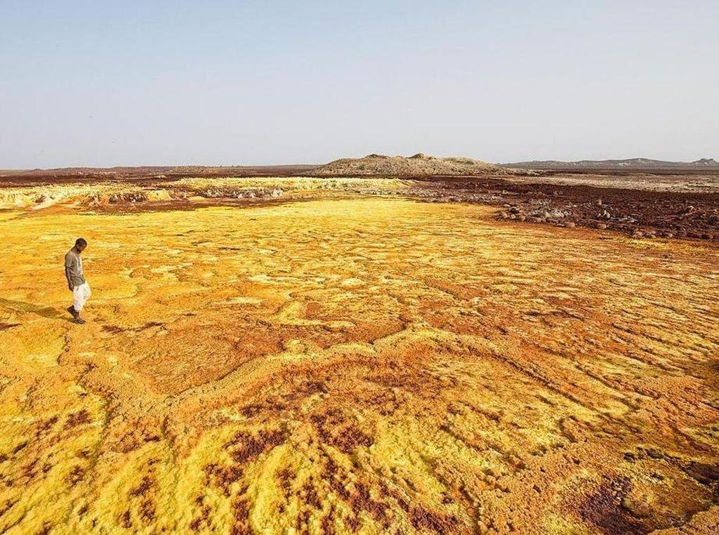 Temuan di Gunung Api Ethiopia Bisa Gambarkan Kehidupan Mars