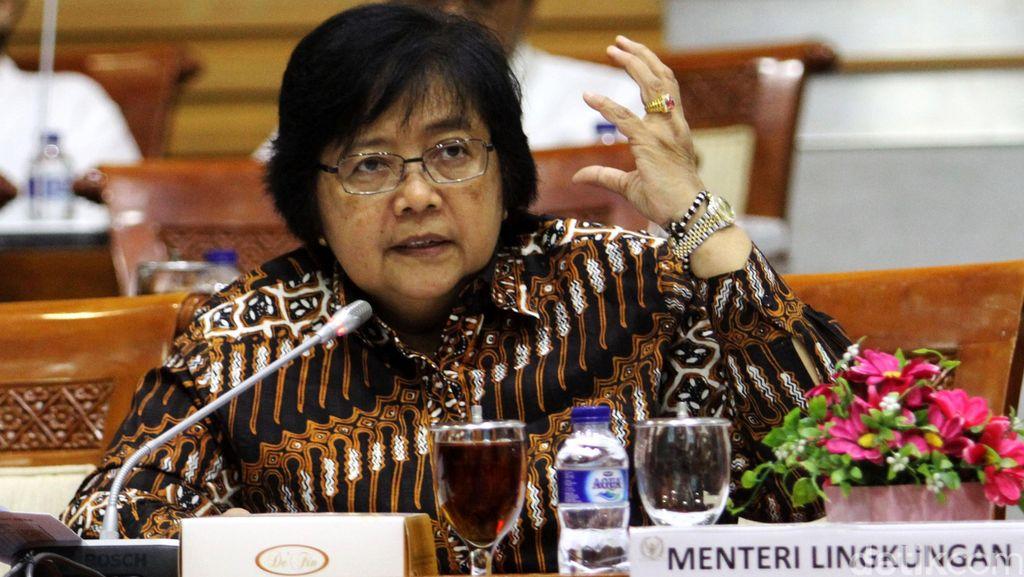 Menteri LHK dan Komisi III Bahas Kebakaran Hutan