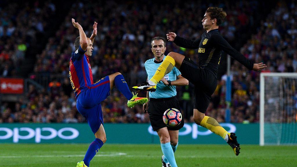 Atletico vs Barcelona Panaskan La Liga Pekan Ini