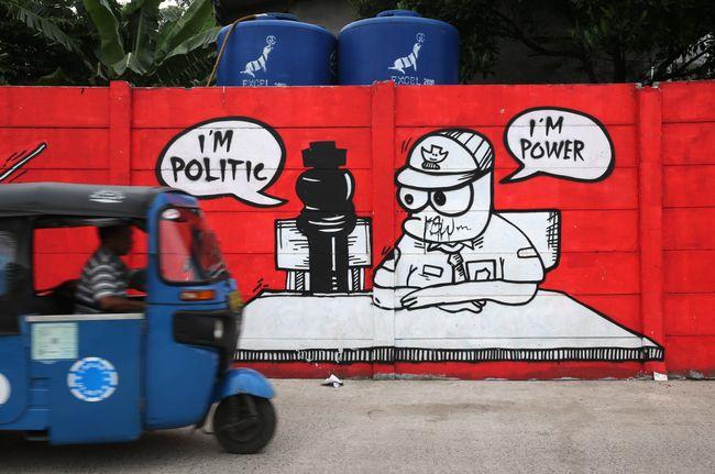 Kritik sosial lewat mural di penjaringan for Mural kalijodo