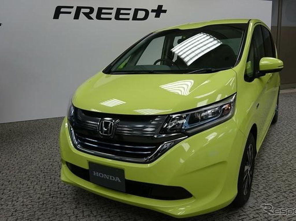 Honda Freed Model Baru Sudah Dinanti Pencintanya
