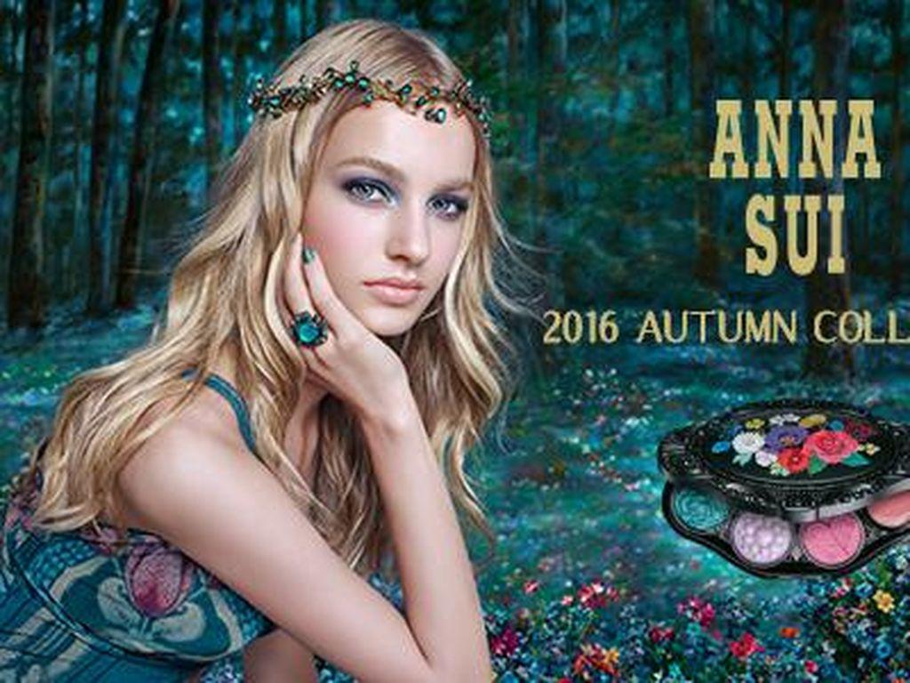 Anna Sui Rilis 35 Warna Eyeshadow, Mulai dari Warna Bold Sampai Shimmery