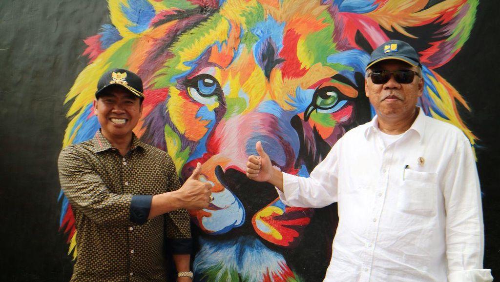 Muncul Kampung Warna Warni di Malang, Menteri PUPR: Akan Saya Tata
