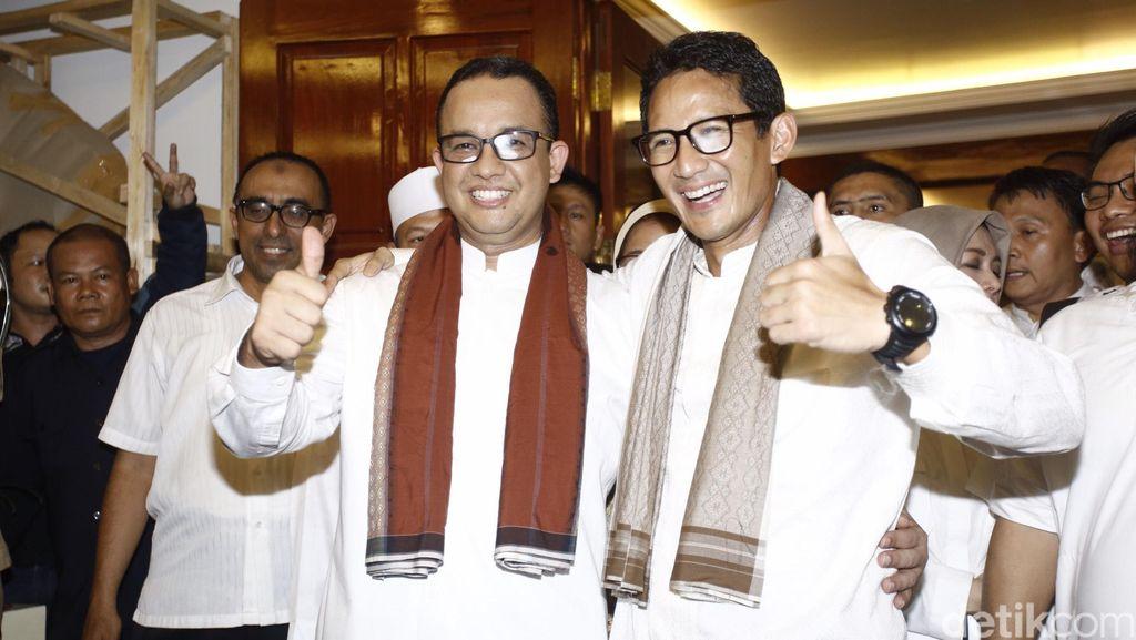 Makna di Balik Kemeja Putih Anies Baswedan-Sandiaga Uno Saat Kampanye