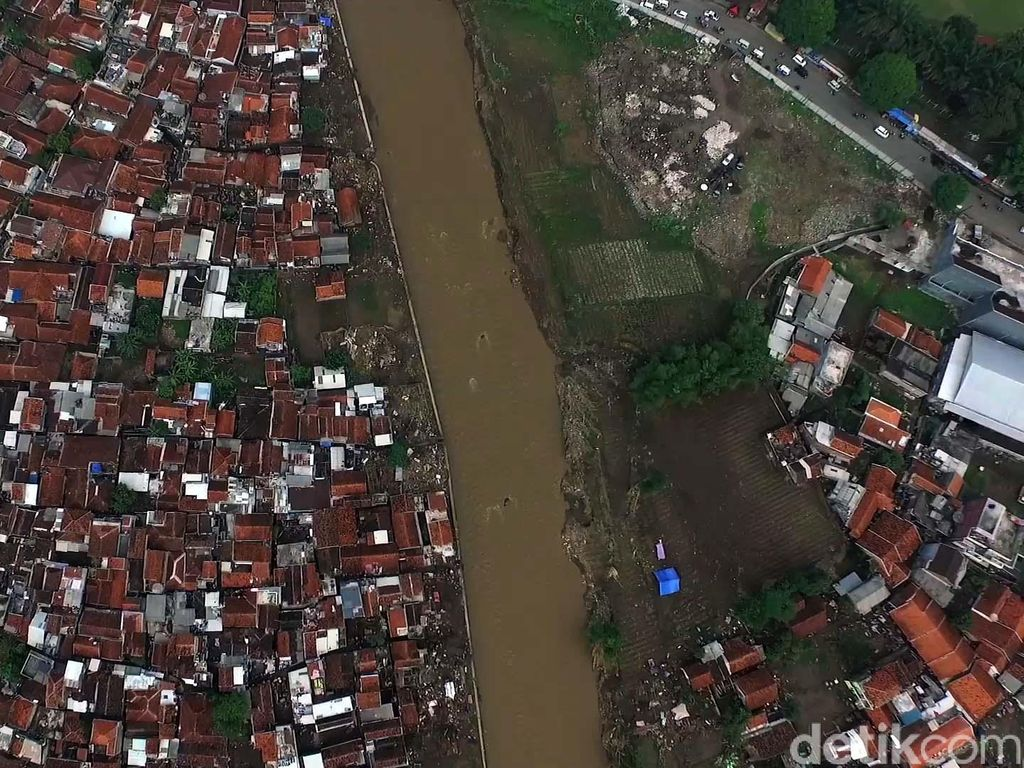 Banjir Garut Terlihat dari Udara