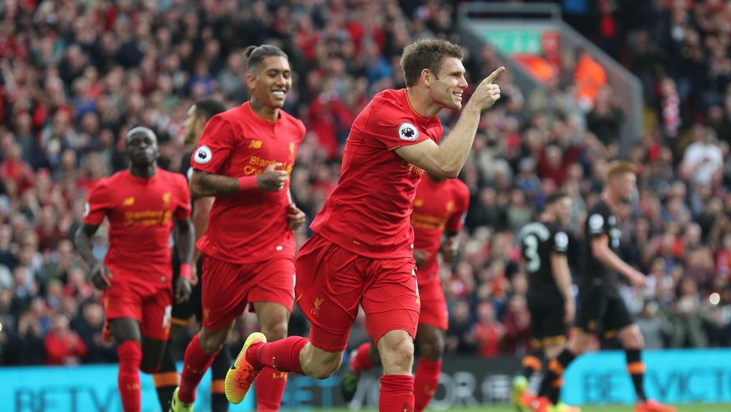 Liverpool Gilas 10 Pemain Hull 5-1