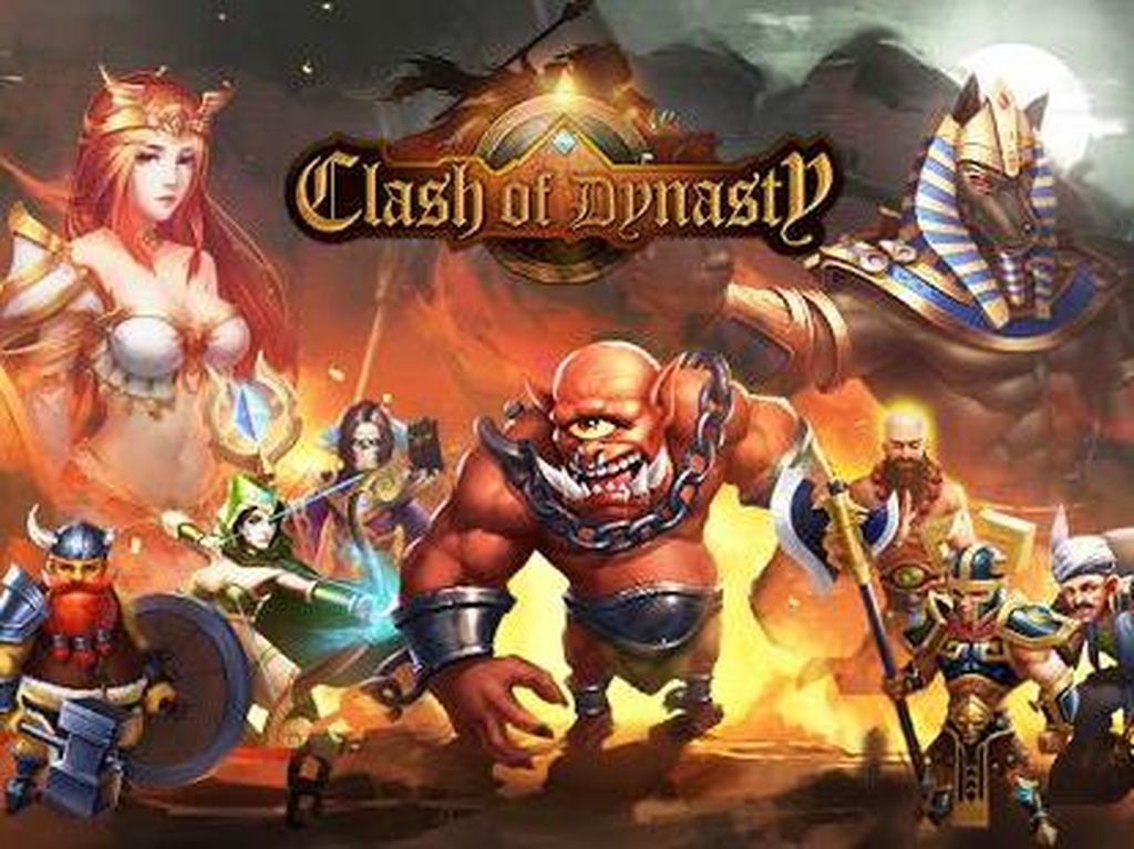 Clash of Dynasty, Game Lokal Penantang Clash of Clans