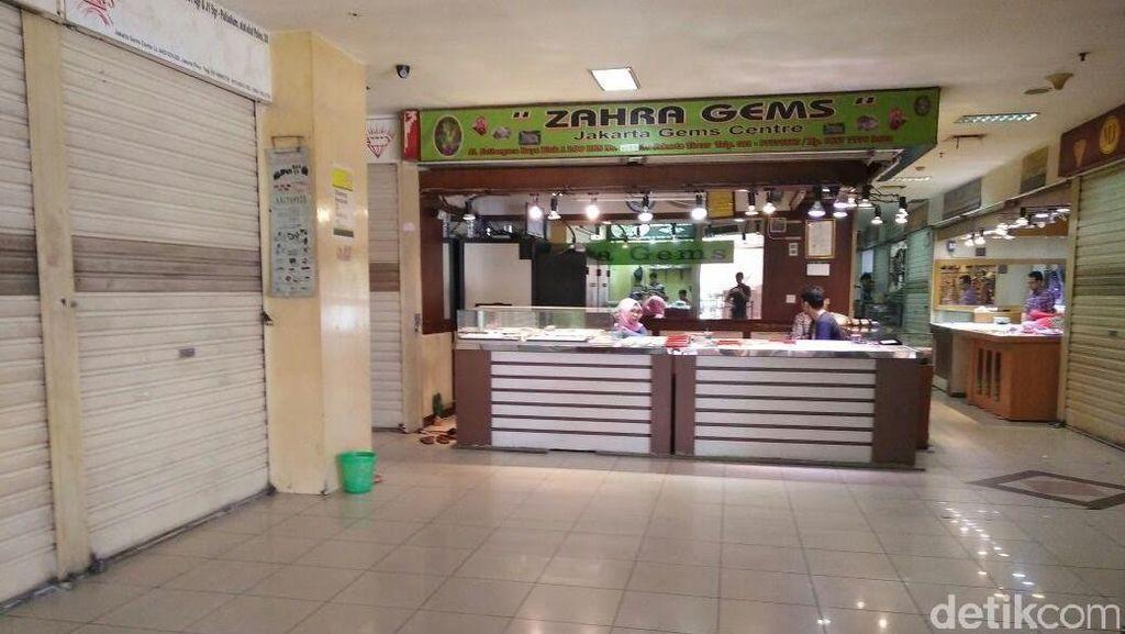 Booming Batu Akik Mereda, Pasar Rawa Bening Sepi
