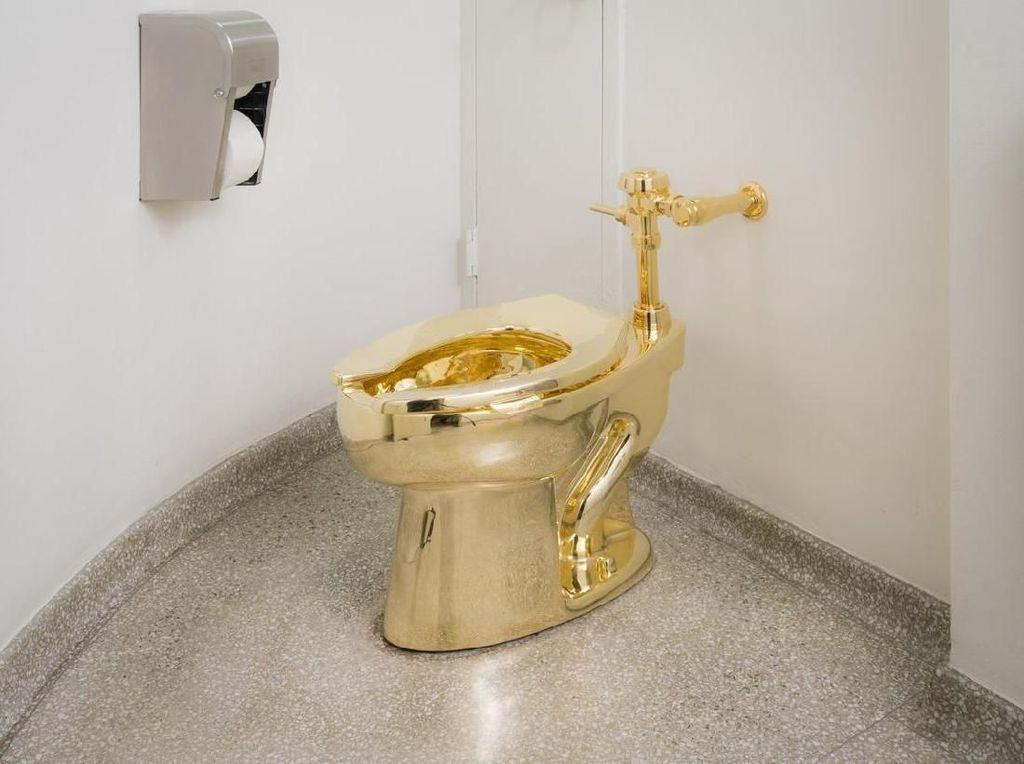 Pencuri Toilet Emas Rp 84 M Tertangkap