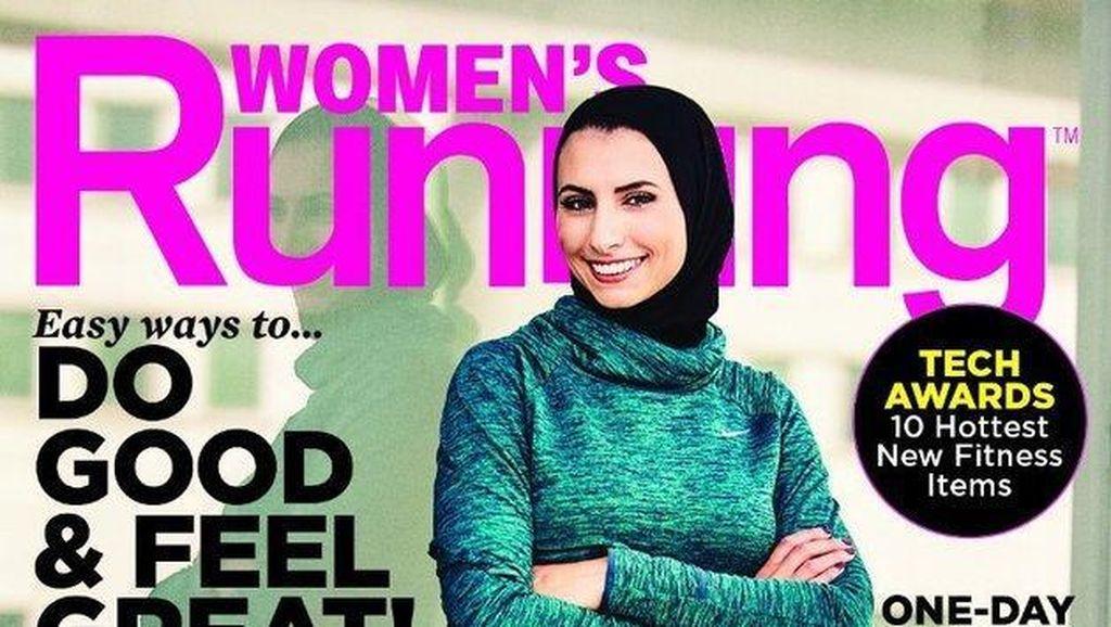 Wanita Ini Jadi Hijabers Pertama yang Tampil di Sampul Majalah Olahraga