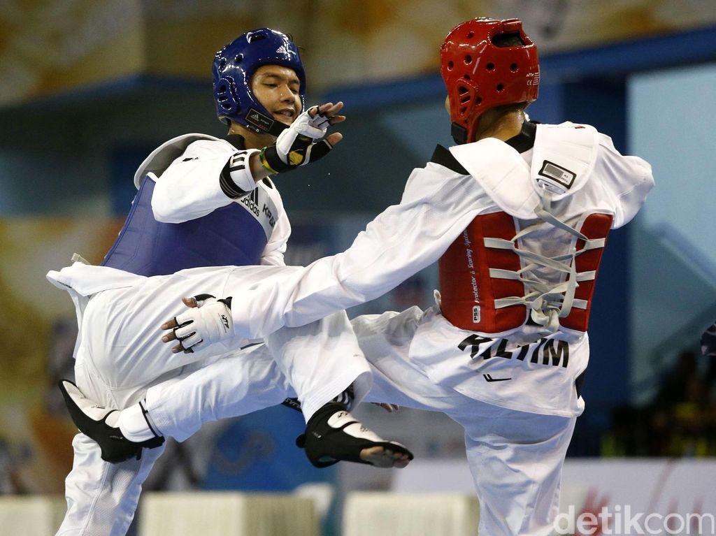 Jabar dan Kaltara Raih Emas di Cabang Taekwondo