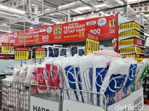 Diskon Aneka Peralatan Tidur di Transmart Carrefour