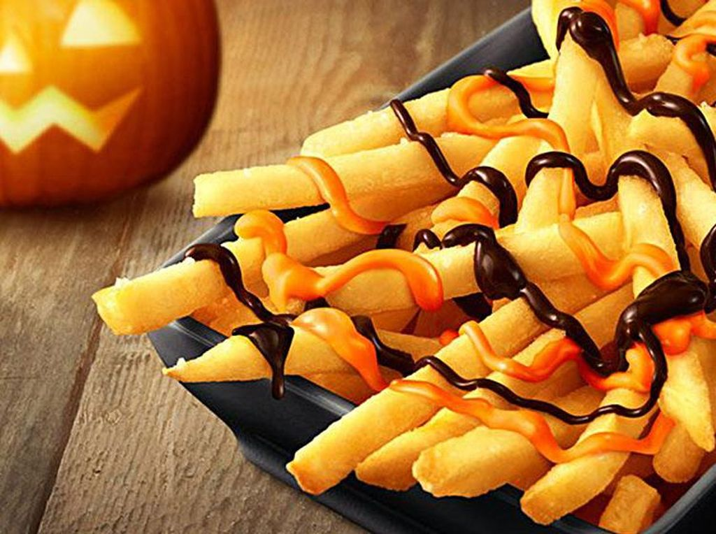Nyam! McDonalds Jepang Sajikan French Fries Saus Labu Kuning