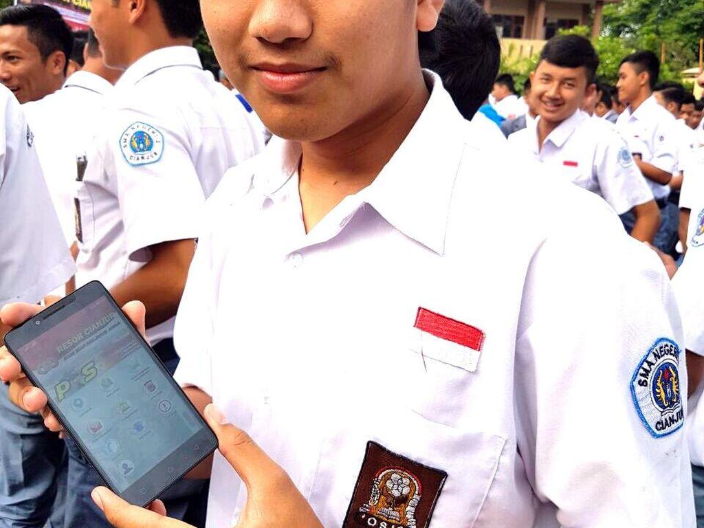 Polres Cianjur Luncurkan Aplikasi Pengawal Pribadi
