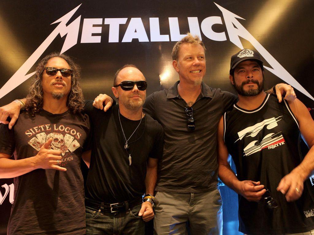Hore! Akhirnya Metallica Kumpul Lagi