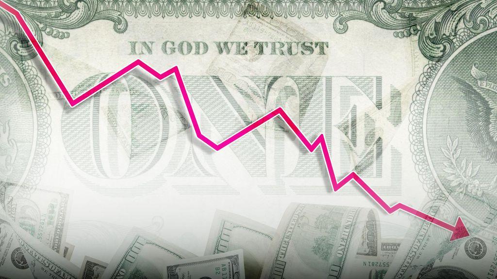 Dolar AS Merosot 134 Poin ke Rp 13.241