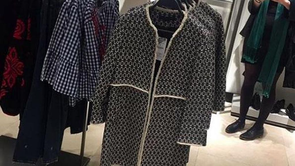 Ada di Mana-mana, Jaket Zara Rp 1,8 Juta Ini Dipakai Banyak Wanita